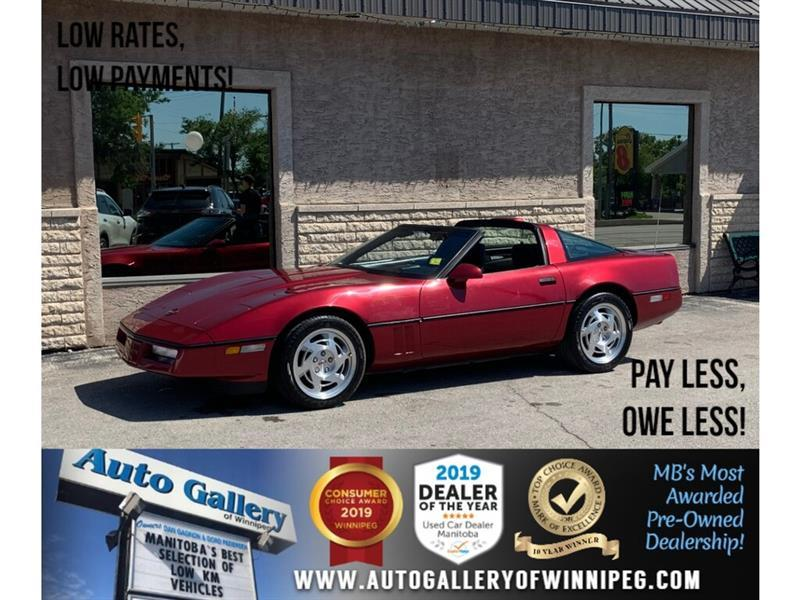 1990 Chevrolet Corvette 2dr Coupe #DG15