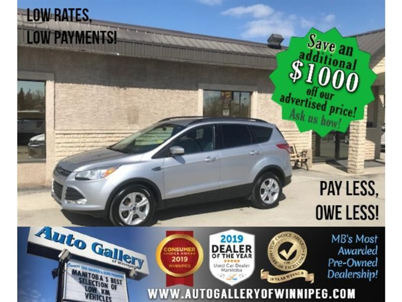2015 Ford Escape SE *AWD/Htd Seats/B.tooth/Back.Cam #24327
