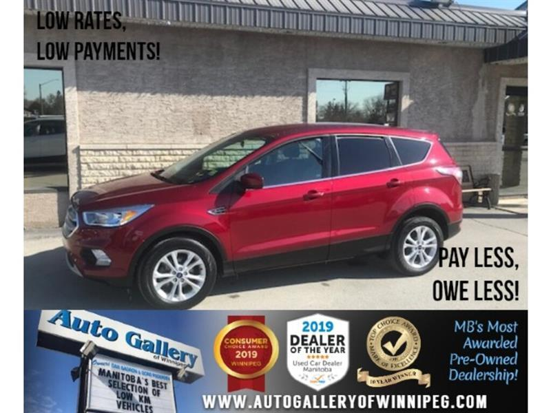 2017 Ford Escape SE *Acc-Free/Bluetooth/Back.Cam/Htd Seats #24368