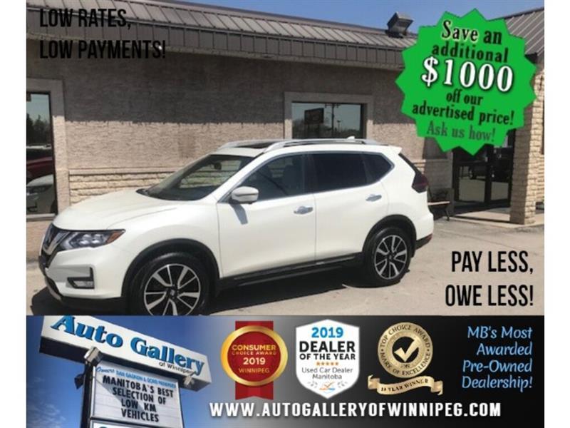 2019 Nissan Rogue AWD SL * Leather/Sunroof/Navigation #24412