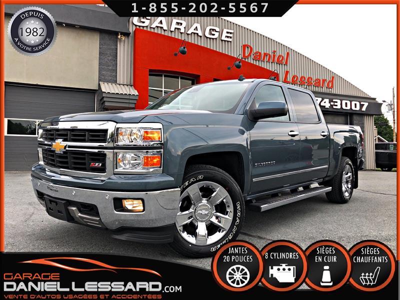 Chevrolet Silverado 1500 2014 LTZ, CREW, BTE 5,5, GPS, CUIR, CAM RECUL, GR REMOR #40312