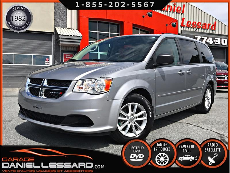 Dodge Grand Caravan 2015 SXT, TV/DVD, CAM RECUL V6.3.6 L, BAS KM, PRÊT ! #59627