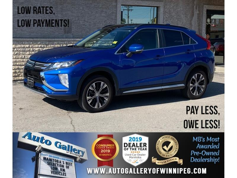2019 Mitsubishi Eclipse Cross GT *AWD/Htd Lthr/B.tooth/B.Cam/Pano Roof #24353