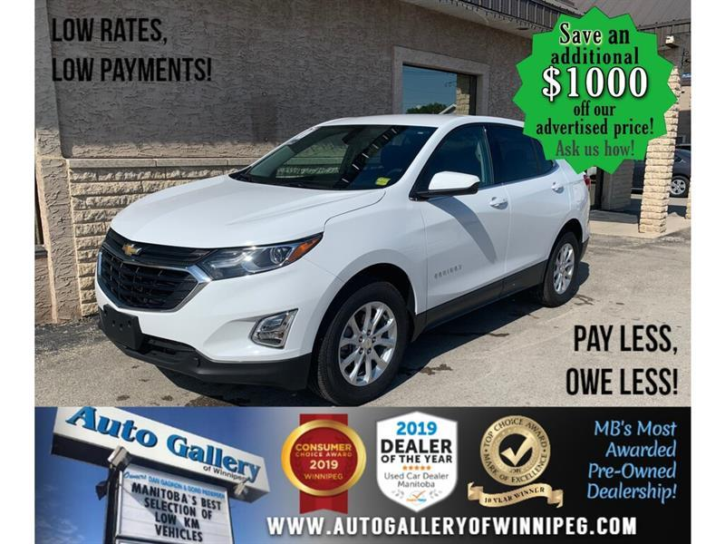 2020 Chevrolet Equinox LT AWD *ONLY 2,534 KMS/Brand new cond ! SAVE HUGE #24388