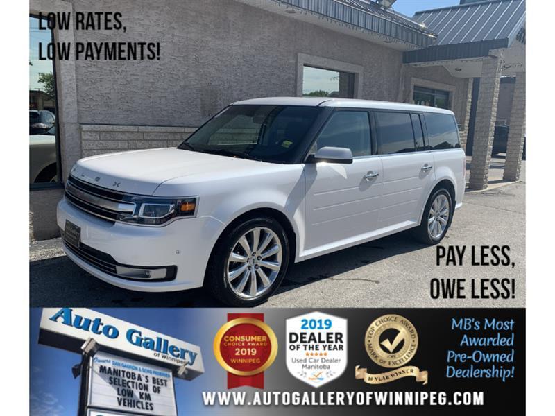 2017 Ford Flex 4dr Limited AWD w-EcoBoost #24432A