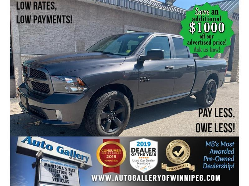 2018 Ram 1500 Express 4x4 Quad Cab 6'4  Box -Ltd Avail- #24448