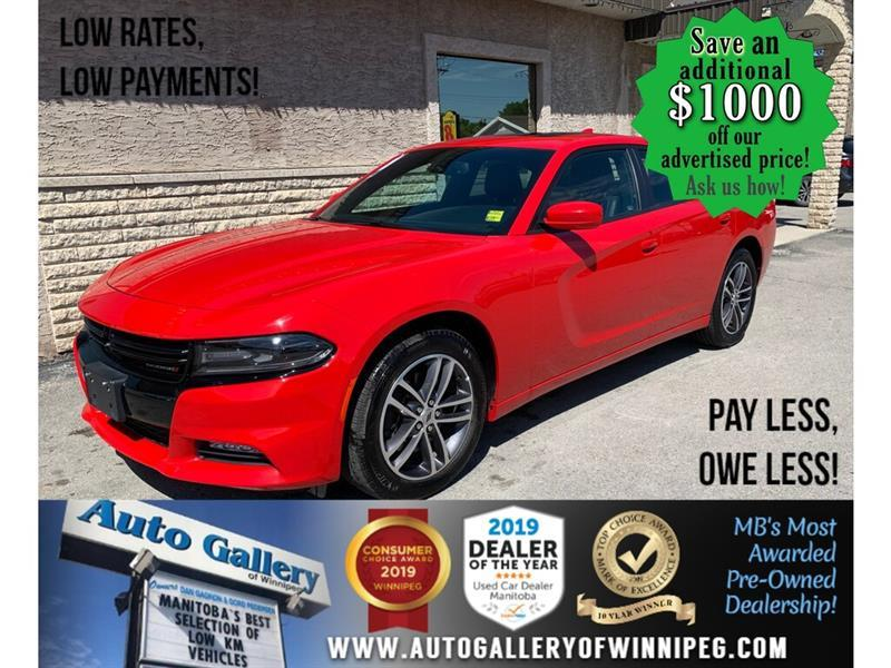 2019 Dodge Charger SXT AWD #24480