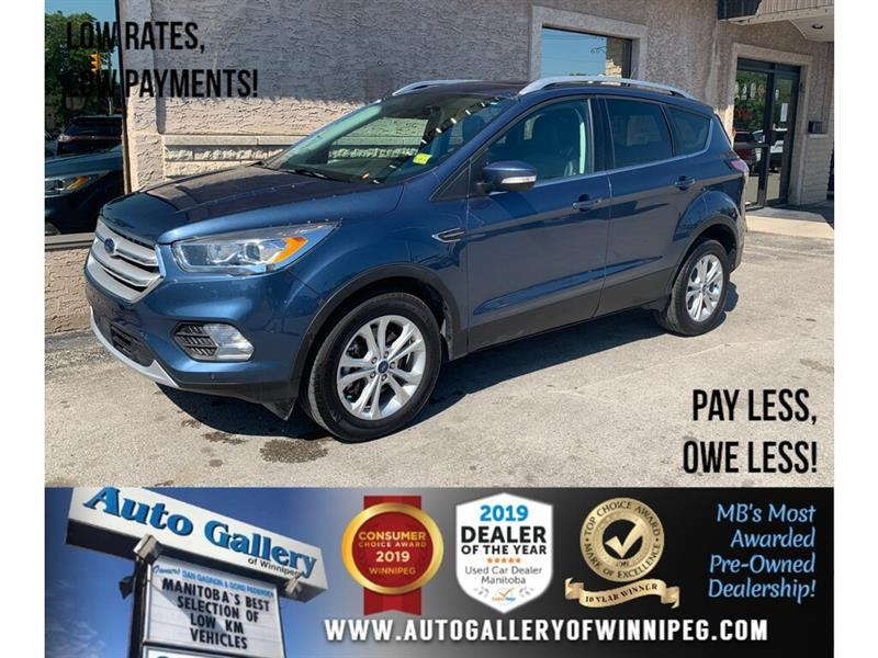 2018 Ford Escape Titanium *AWD/Nav/B.tooth/B.Cam/Htd Lthr/Pano Roof #24313