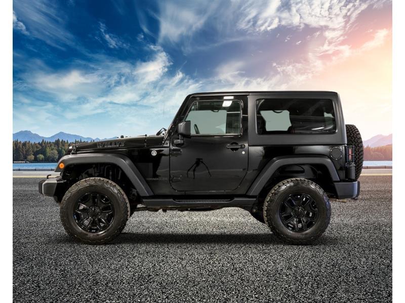 2016 Jeep  Wrangler 4WD - Willys Wheeler - 2 toits