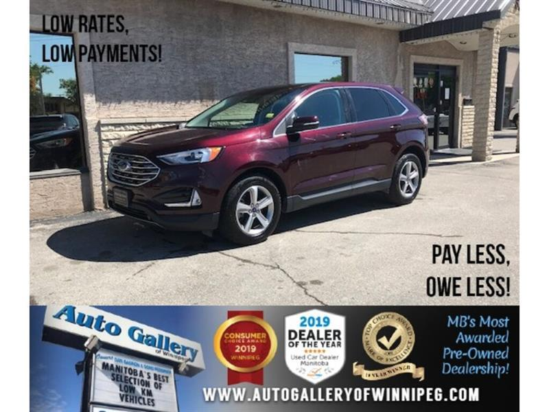 2019 Ford EDGE SEL *AWD/Navi/B.tooth/B.Cam/Htd Seats/Pano/2.0L #24273