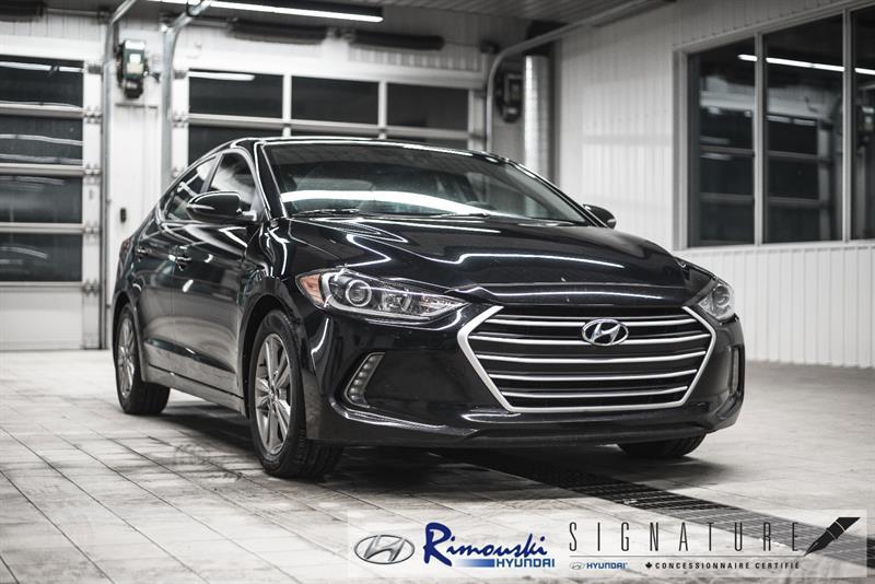 Hyundai Elantra GL chez Rimouski Hyundai 2017