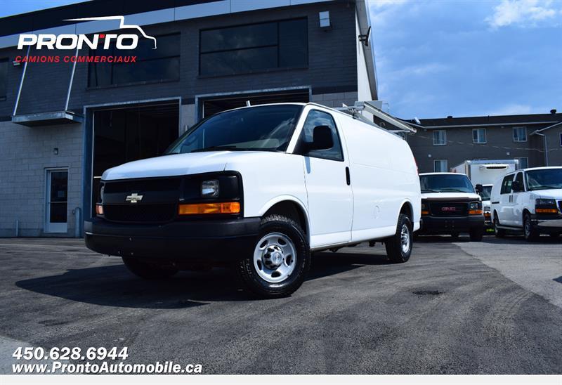 Chevrolet Express Cargo Van 2017 2500 4.8L **Full Rack** #1303