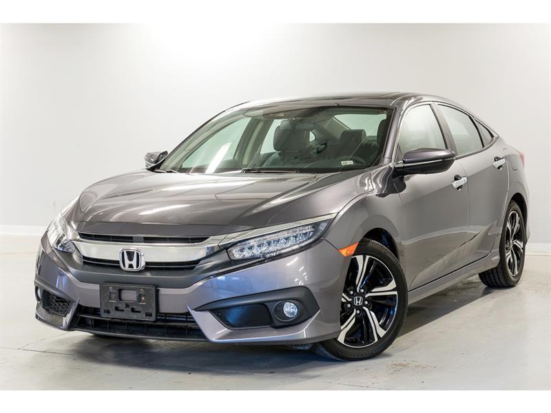 2018 Honda  Civic Sedan Touring - Toit - Cuir - GPS