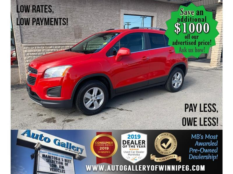 2015 Chevrolet Trax AWD* load/Alloys #24478