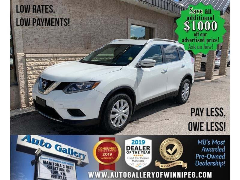2016 Nissan Rogue FWD 4dr S #24498