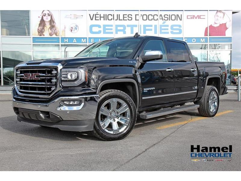 Gmc Sierra 4X4 * CREWCAB  SLT E-ASSIST *  2018