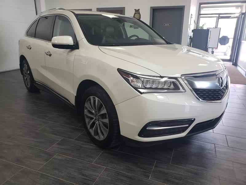 2016 Acura MDX SH-AWD Tech Pkg #GB507590