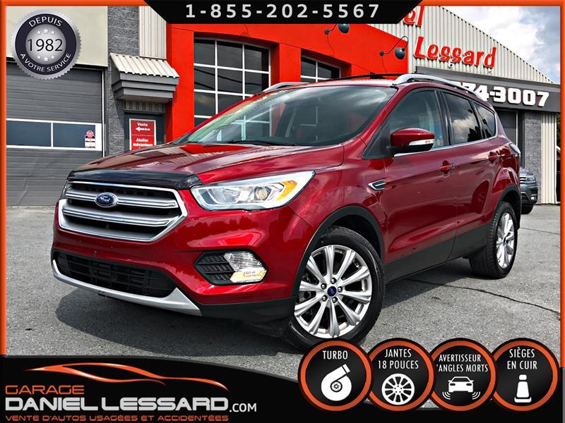 Ford Escape 2017 TITANIUM, FWD, CUIR, MAG 18, CAM RECUL #79099