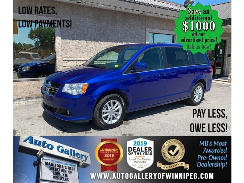 2019 Dodge Grand Caravan SXT Premium Plus 2WD #24483