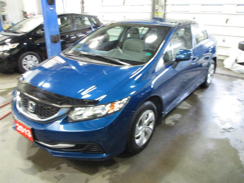 Honda Civic Sdn 2013 4dr Man LX #DH043073A