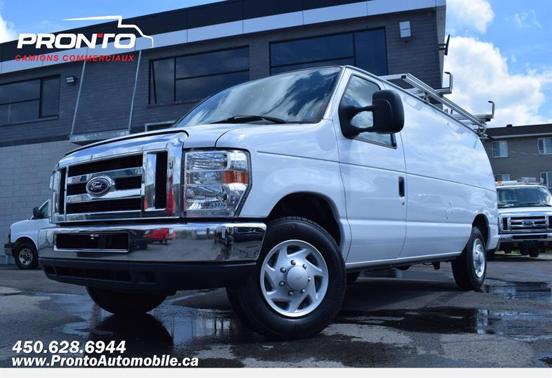 Ford Econoline Cargo Van 2014 E-150 **FULL RACK** #1305