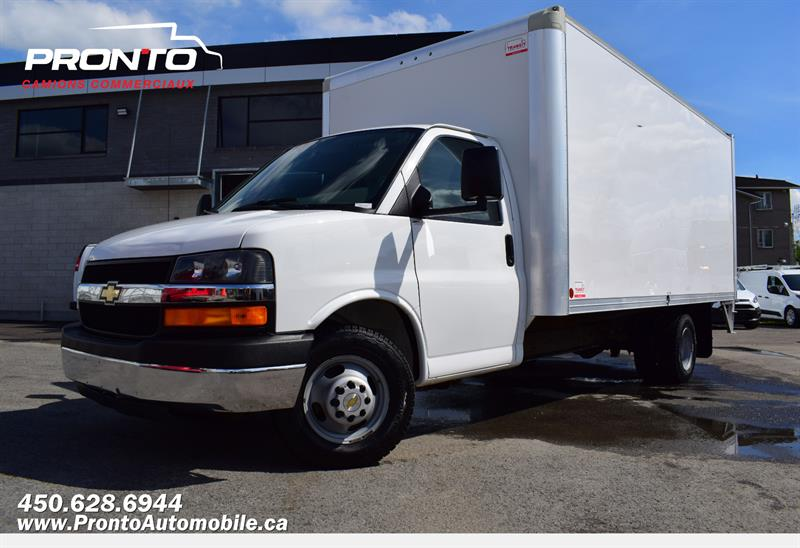 2016 Chevrolet Express Commercial Cutaway 3500 ** Cube 16 pieds ** Monte charge/Tailgate** #1306