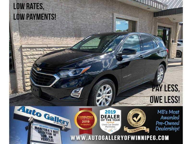 2019 Chevrolet Equinox LT* LOW KMS/AWD/Heated Seats/REMOTE START #24497