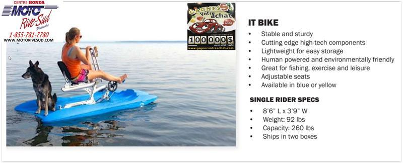 Bleu North Pedalo IT Bike 2020 PÉDALO #D165