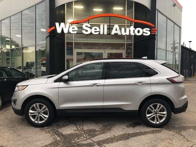 2017 Ford EDGE SEL #17FE56727