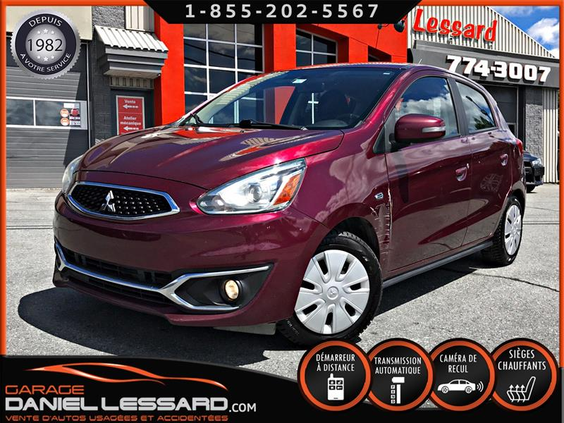 Mitsubishi Mirage 2017 SEL,CAMÉRA, APPLE CARPLAY, AUTOMATIQUE, BRUME #70035