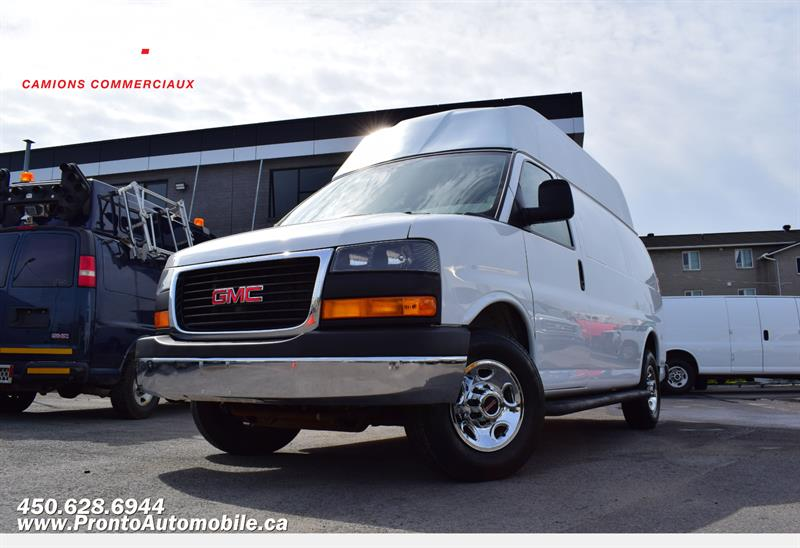GMC Savana Cargo Van 2015  2500 ** TOIT HAUT ** #1312