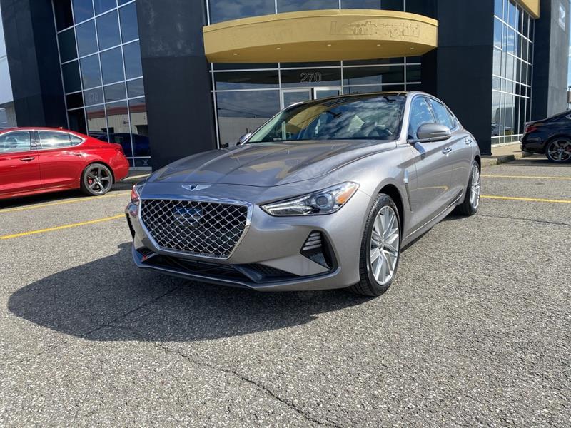 Genesis G70 2.0T Elite AWD  DÉMONSTRATEUR 2021