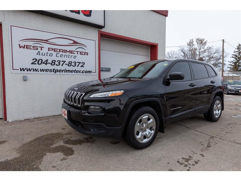 2016 Jeep Cherokee Sport #5540-1