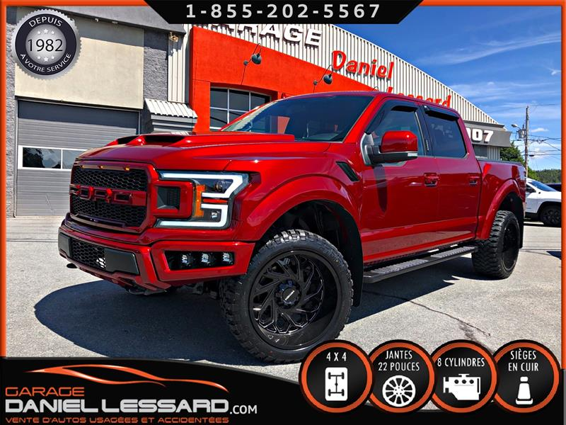 2018 Ford F-150 LOOK RAPTOR 5.0, WIDE BODY, 20 000$ D'AJOUTS #80357