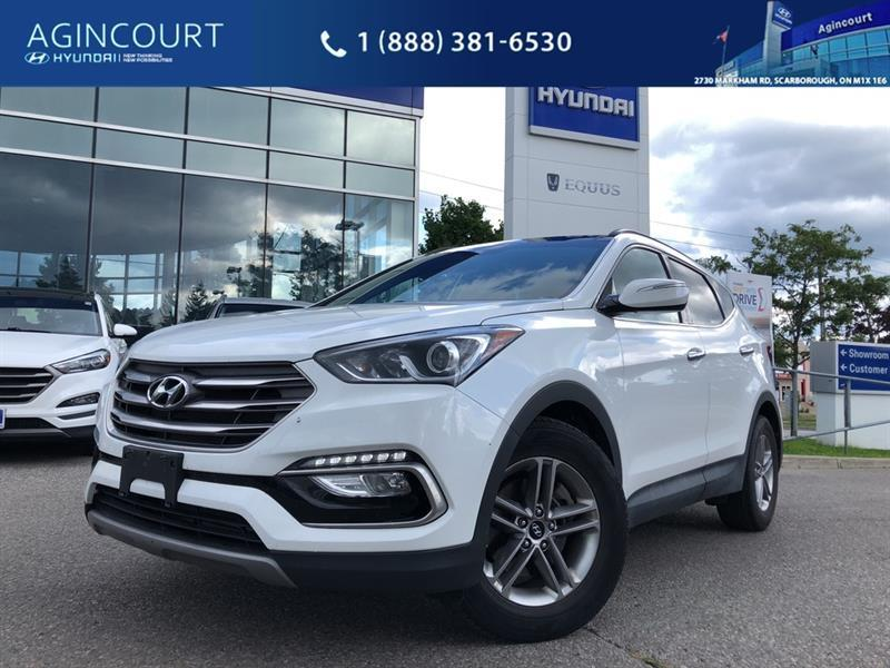 2017 Hyundai Santa Fe Sport  Se Clncarfax Leather Bcam Keyless Panoroof  Used For Sale In