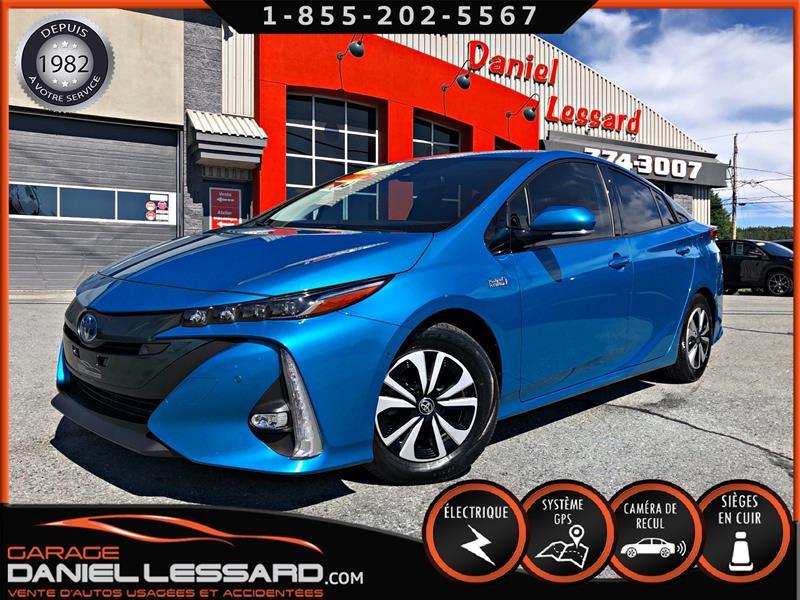 Toyota Prius Prime 2017 TECH, CUIR, GPS, BRUME, HEAD UP DISPLAY #70376