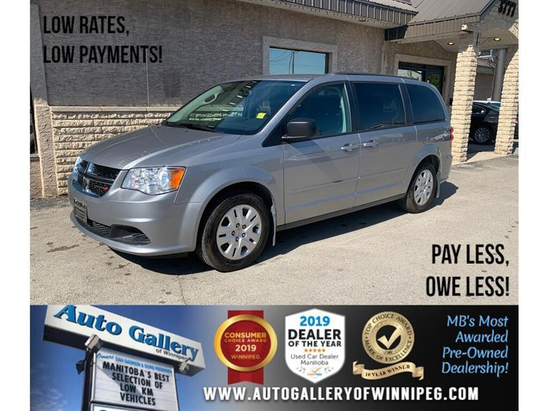 2016 Dodge Grand Caravan SXT *Bluetooth/Rear Air/7 Pass #24160