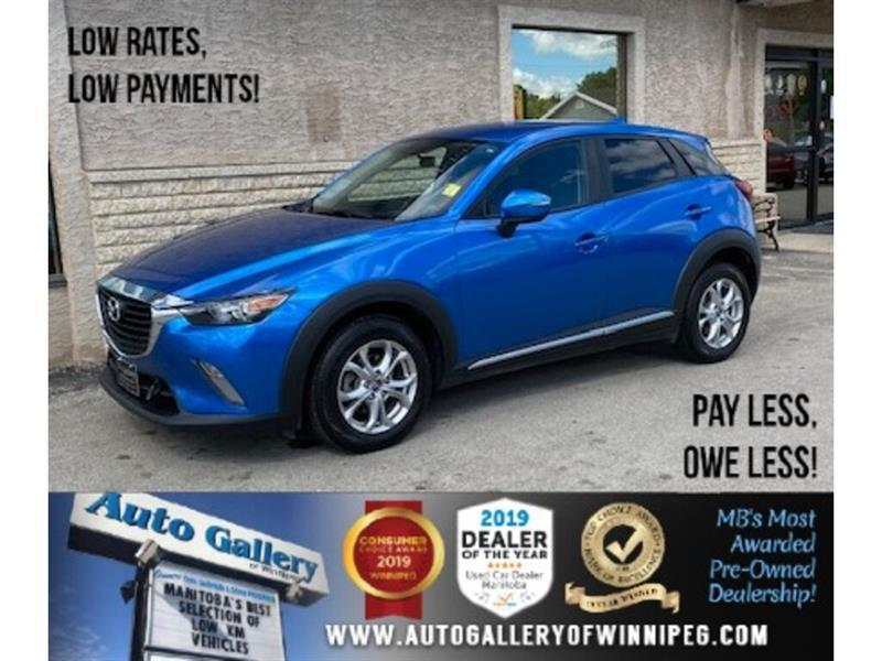 2016 Mazda CX-3 GS *B.tooth/Back.Cam/Htd Seats #24176a