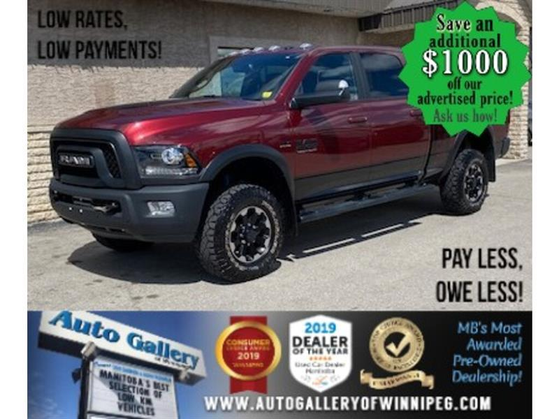 2017 Ram 2500 4WD Crew/Power Wagon ONLY 56,356 KMS ! #24395