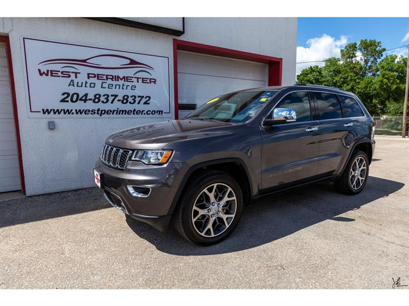 2019 Jeep Grand Cherokee Limited 4x4 *LTHR*S/ROOF*NAVIGATION* #5758