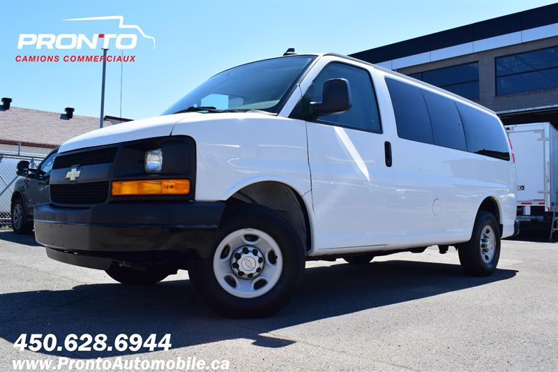 Chevrolet Express Passenger 2016 3500 ** 11 PASSAGERS ** EXCELLENTE CONDITIONS ** #1323