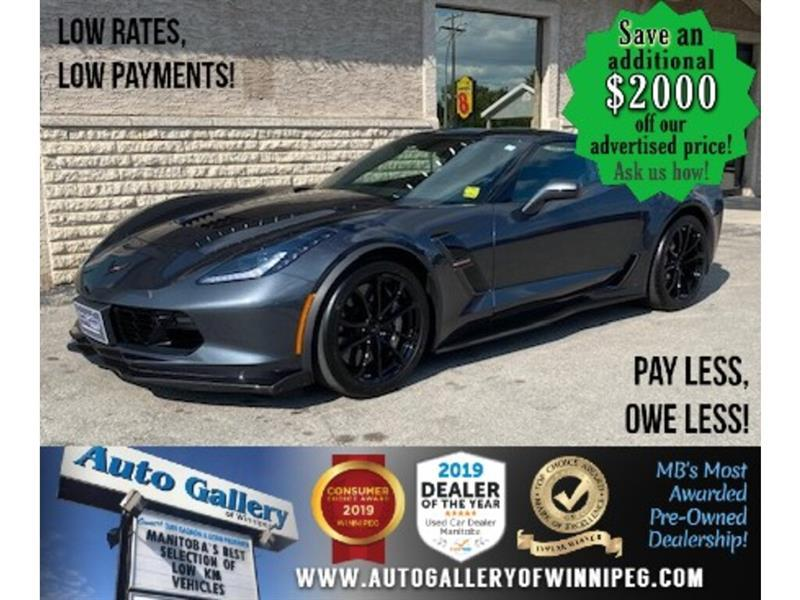 2018 Chevrolet Corvette Grand Sport *Absolute full load/3LT/Z07 Pkg/2 Tops #24521