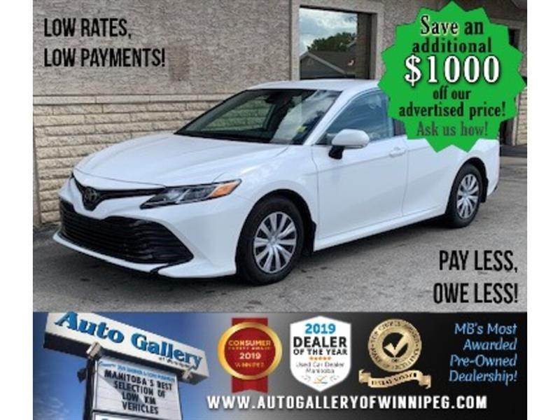 2019 Toyota Camry LE *Auto/B.cam/B.tooth #24524