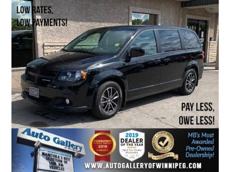 2019 Dodge Grand Caravan GT *B.cam/Htd seat/R. air/Nav #24525