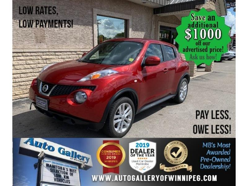 2013 Nissan JUKE SV* Awd/AT/B.tooth #24294a