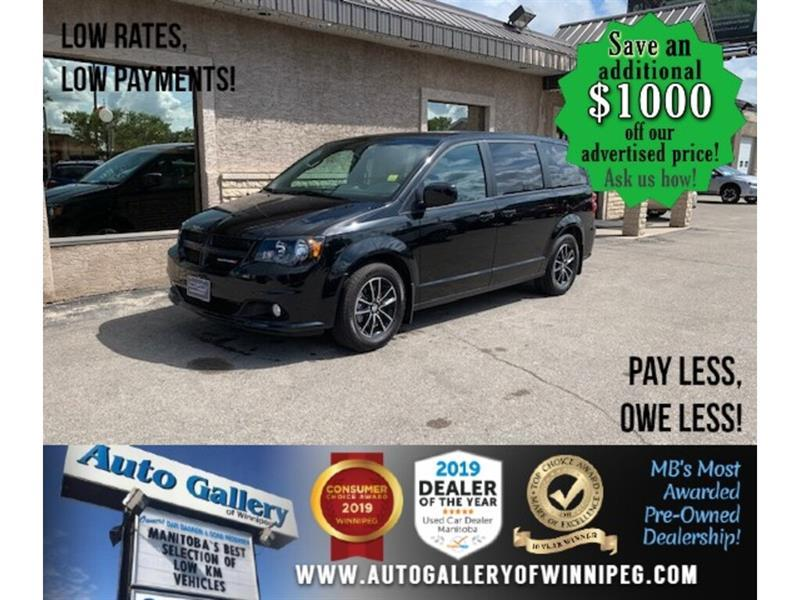 2019 Dodge Grand Caravan GT *B.cam/Htd seat/R. air/Nav #24525