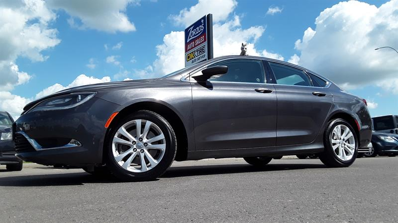 2015 Chrysler 200 Limited #p716