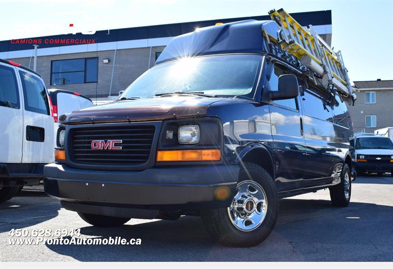 GMC Savana Cargo Van 2010 3500 ** Toit Surélevé ** Voir Équipement ! ** #PPF1332