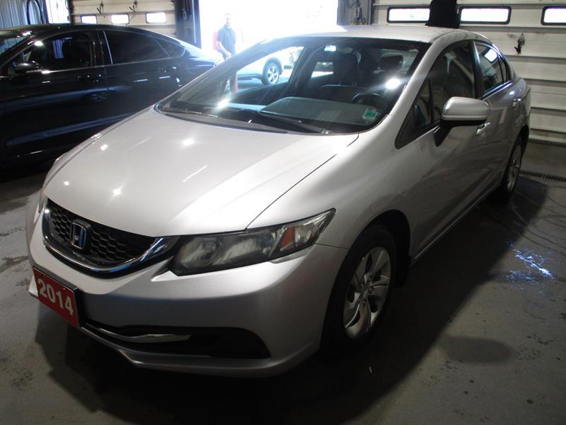 Honda Civic Sedan 2014 4dr Man LX #EH017313A