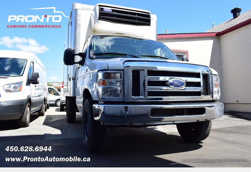 Ford Econoline Commercial Cutaway 2012 E-350 Super Duty ** RÉFRIGÉRÉE CARRIER ** #PP1339